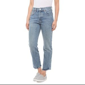 NWT Levi's 501 branded jeans